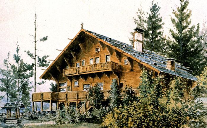1 Cutter's own Chalet, Spokane 1887-9