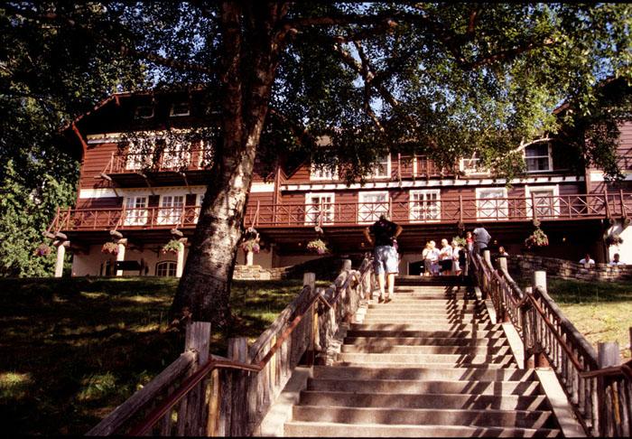 10 Lake McDonald Lodge, Glacier National Park, Montana 1913