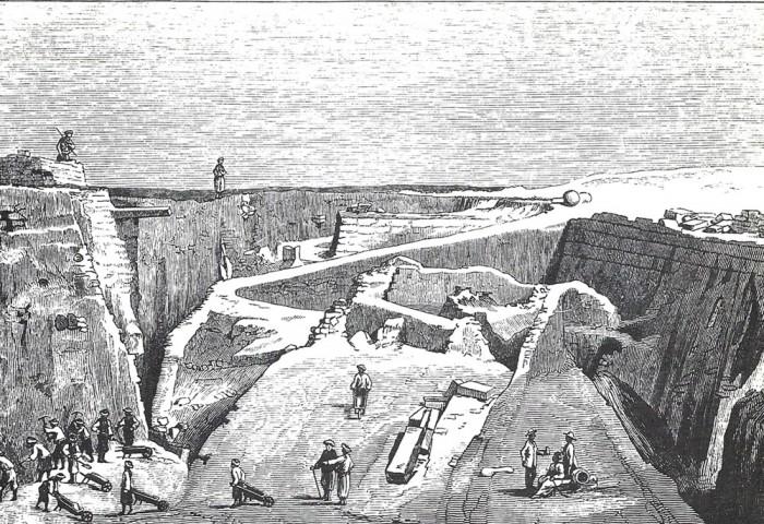 23 Schliemann's trench