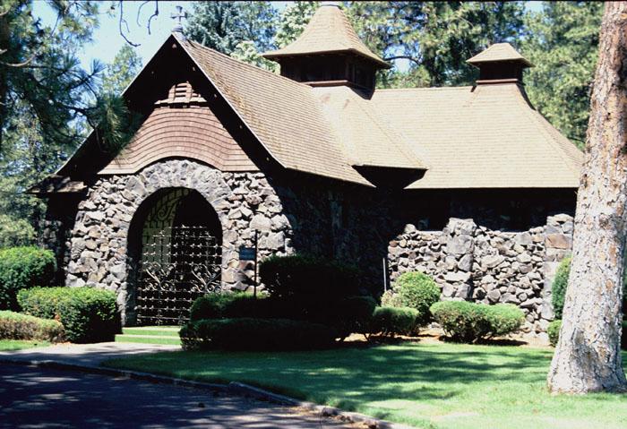 3 Fairmont Cemetery Chapel, Spokane 1890