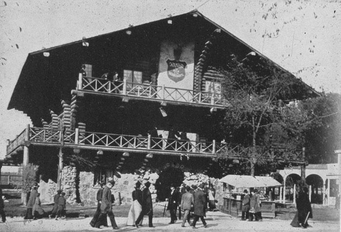 4. Idaho Building, World's Columbian Exposition, Chicago 1893