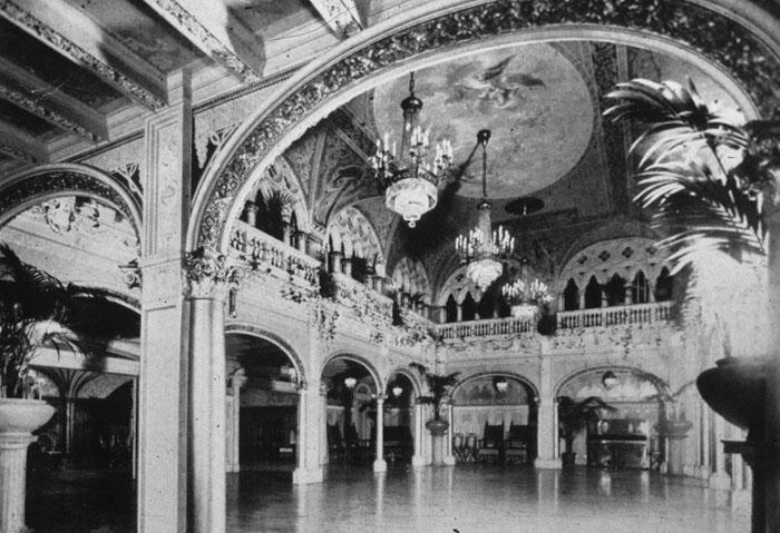 7 Hall of the Doges, Davenport's Restaurant Spokane 1904