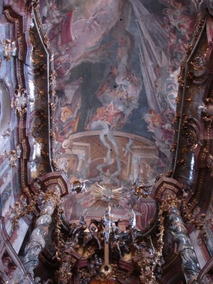 Asamkirche Munich int Ceiling E
