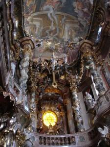 Asamkirche Munich int E up