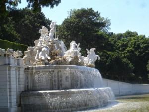 Schonbrunn fountain